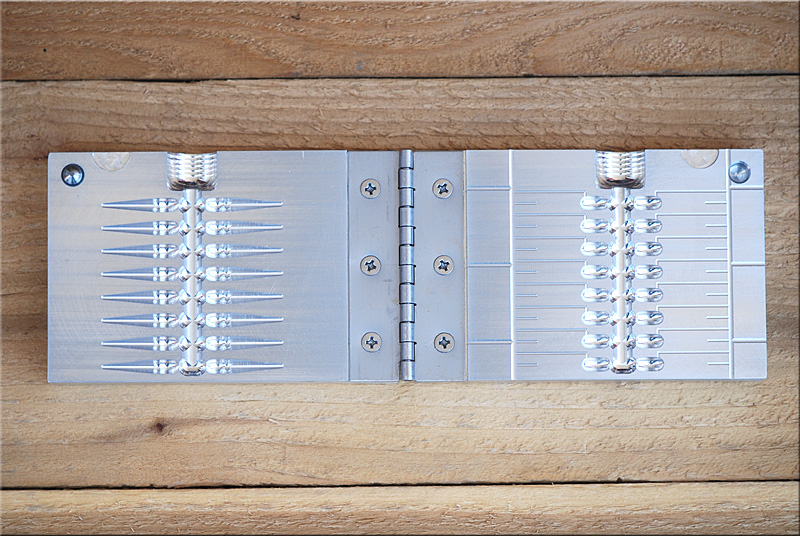1in nano fry 16 cavity for Ice fishing jig molds