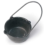 Lead Melting Large Cast Iron Pot