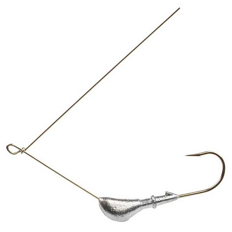 Banana Spinner Jig<br>Sz: 1/4, 3/8<br>Hk: 253 or L255<br>Collar: Ring &amp; Barb