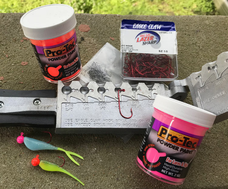 Same Weight Different Bait - Do-it Molds