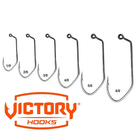 Victory 11786 V-Loc 60 Degree X Strong Hooks<br>Black Nickel (100)