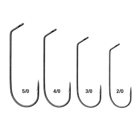 Eagle Claw L2798 Jig Hook<br>Platinum Black (1000)