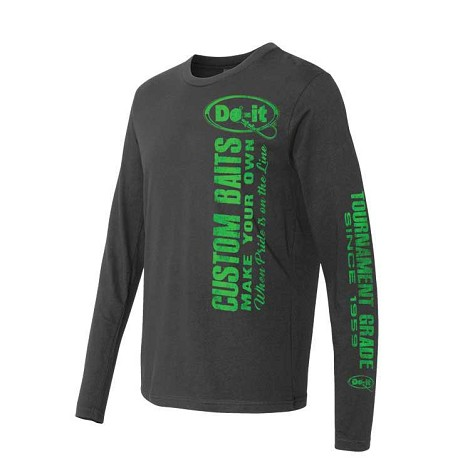 Custom Baits Premium Long Sleeve Crew