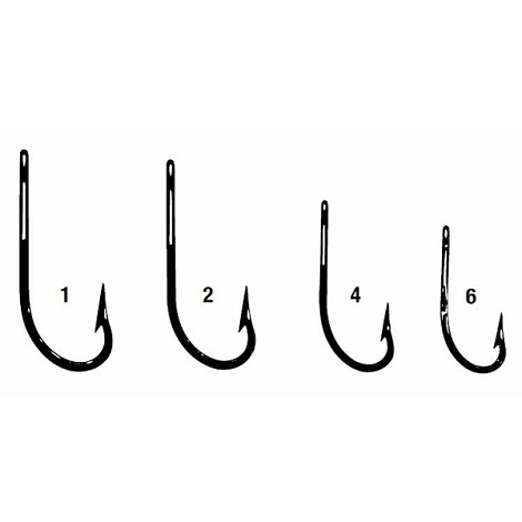 Style 455 Crappie Spinner Jig Hook (1000)